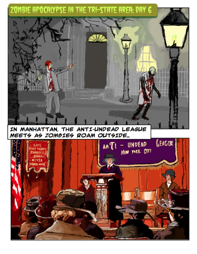 Theodore Roosevelt and the Rough Riders vs. Zombies: Page 1