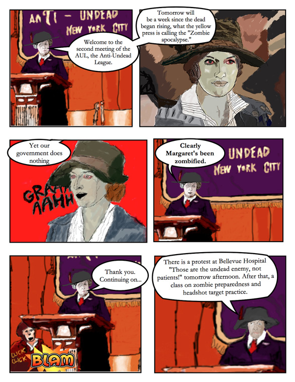 Theodore Roosevelt and the Rough Riders vs. Zombies: Page 2