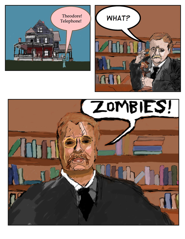 Theodore Roosevelt and the Rough Riders vs. Zombies: Page 5