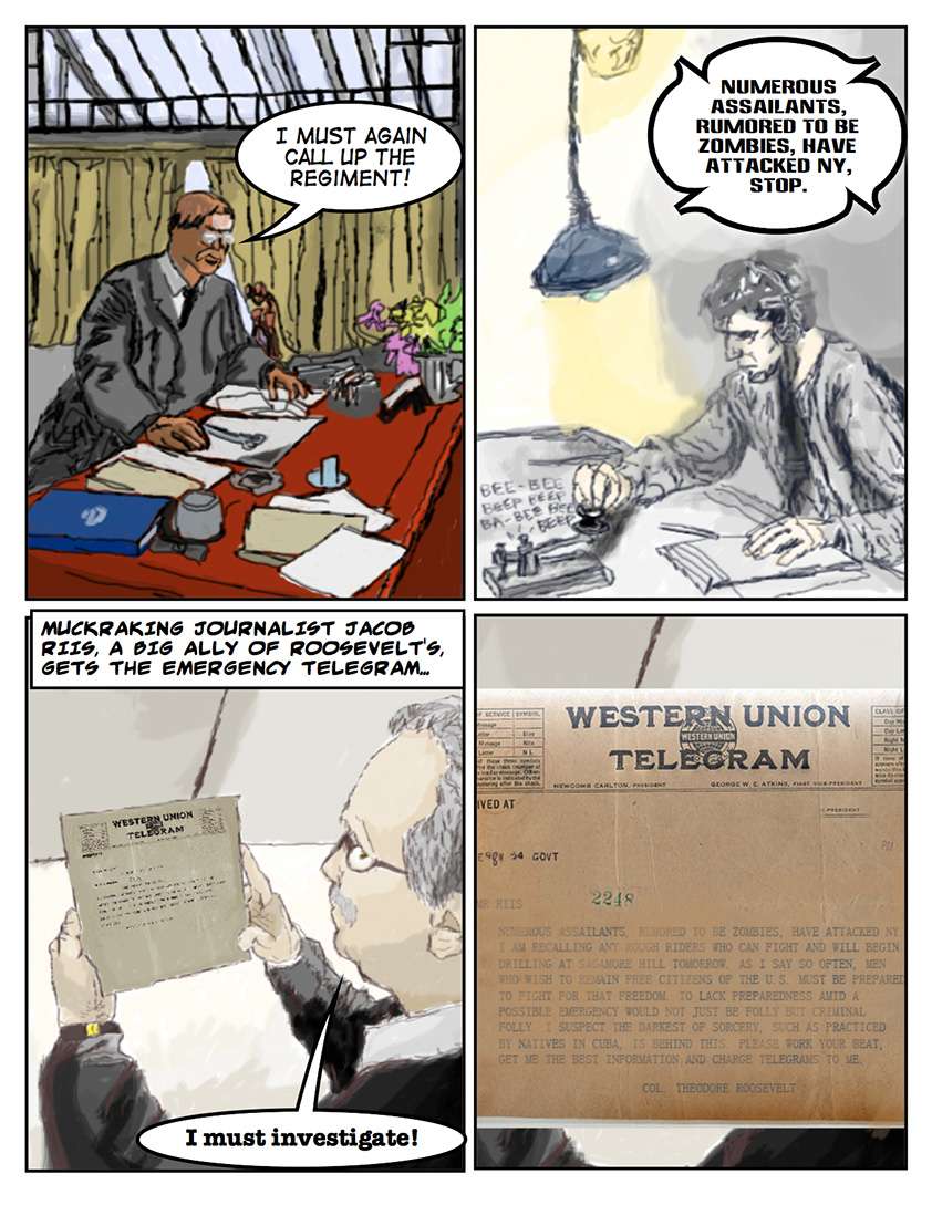 Theodore Roosevelt and the Rough Riders vs. Zombies: Page 6