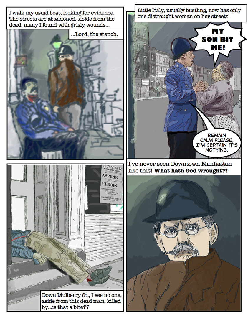 Theodore Roosevelt and the Rough Riders vs. Zombies: Page 7