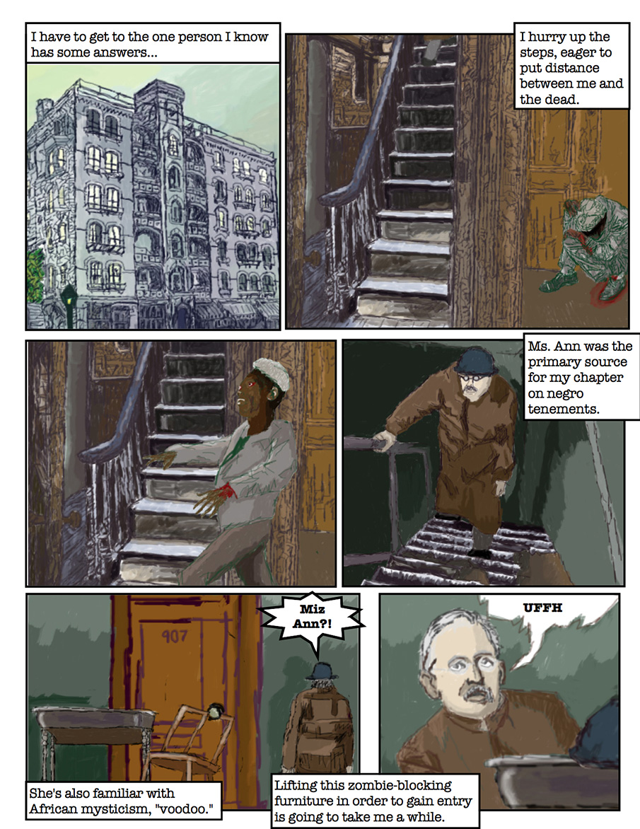 Theodore Roosevelt and the Rough Riders vs. Zombies: Page 8
