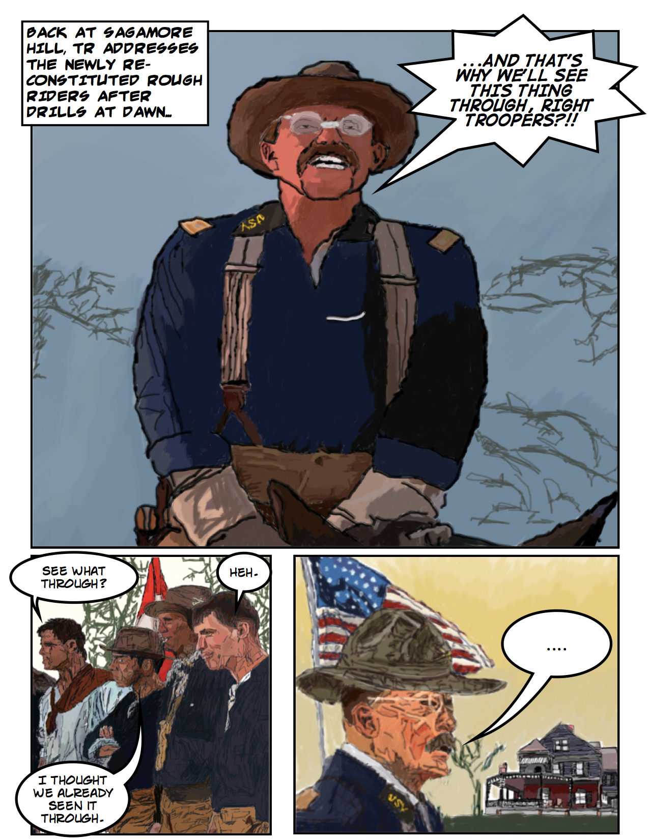 Theodore Roosevelt and the Rough Riders vs. Zombies: Page 9