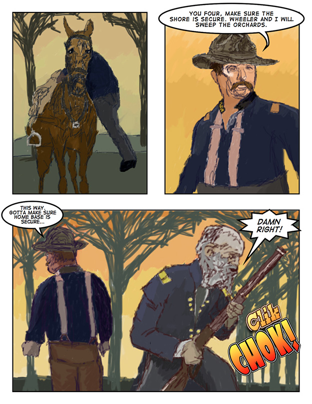 Theodore Roosevelt and the Rough Riders vs. Zombies: Page 10