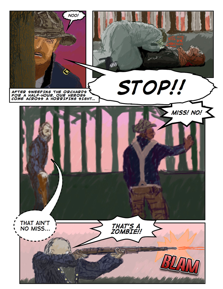 Theodore Roosevelt and the Rough Riders vs. Zombies: Page 11