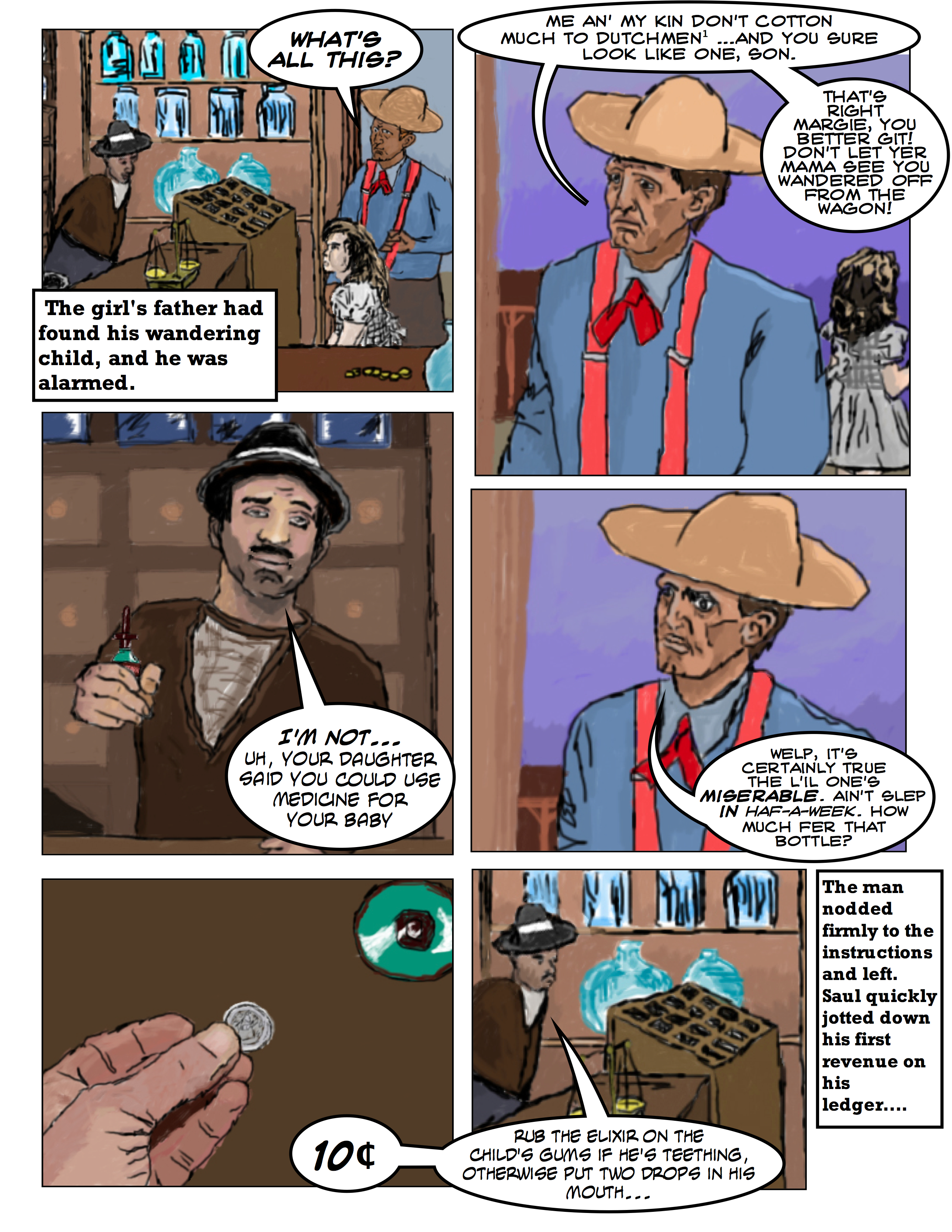 Wild West Apothecary: Saul's First Day As A Pharmacist 2