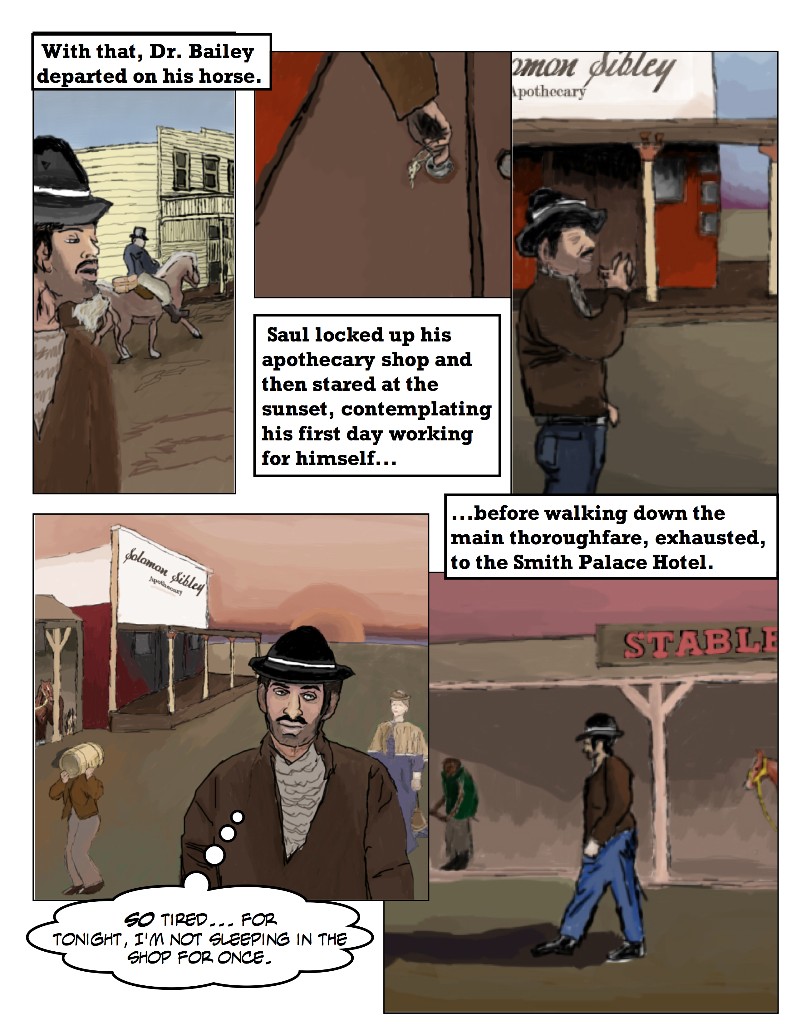 Wild West Apothecary: Saul's First Day As A Pharmacist 5