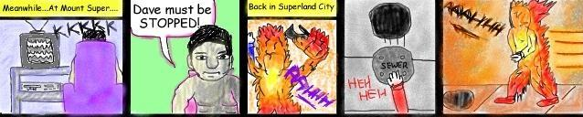 Superdude and the Arrows of Fire: Superdude Watching