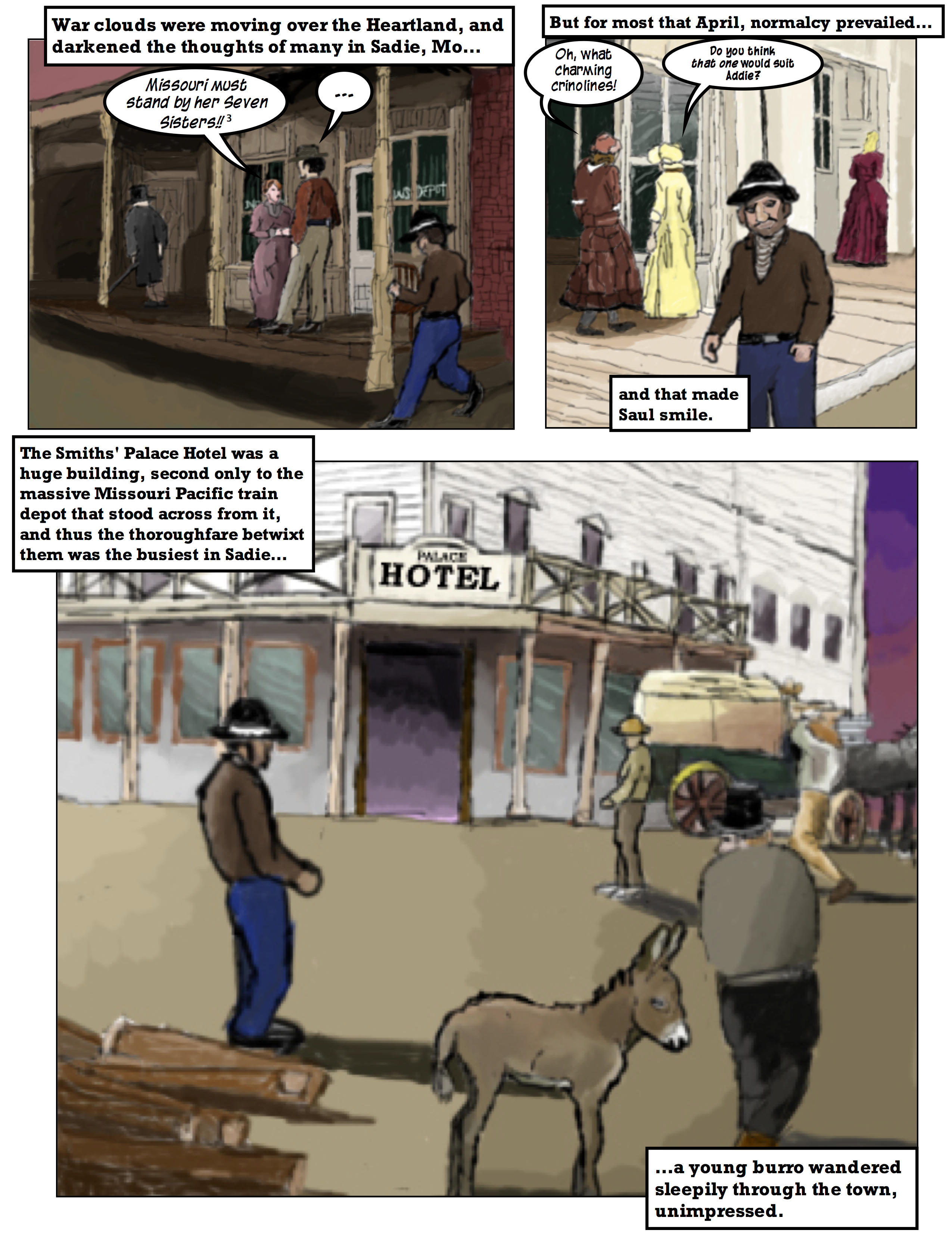 Wild West Apothecary: Saul's First Day As A Pharmacist 6