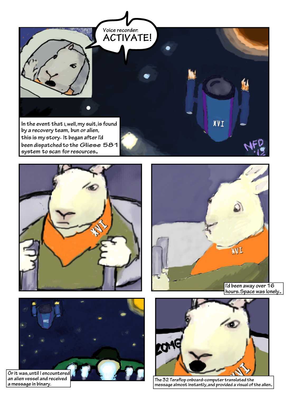 Bunnies In Space: The Beginning – Scout Corps