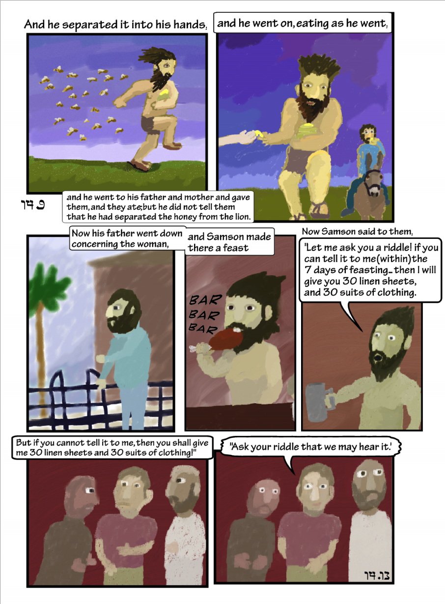 Story of Samson: Om-nomming