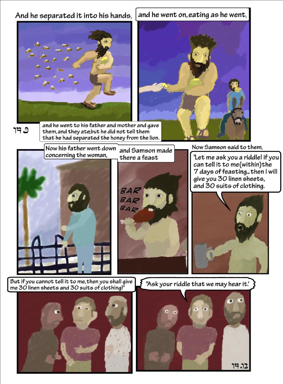 Story of Samson: Om-nomming