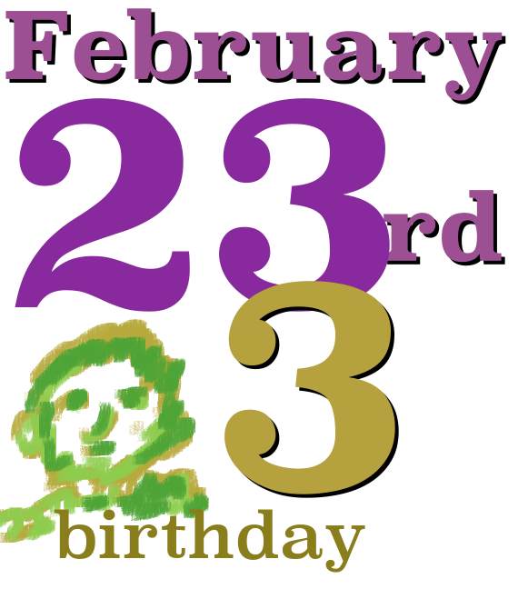 Birthday logo