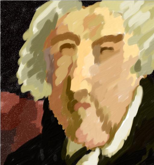 President John Adams portrait