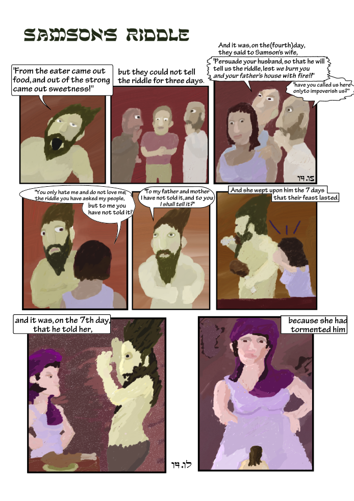 Story of Samson: The Riddle